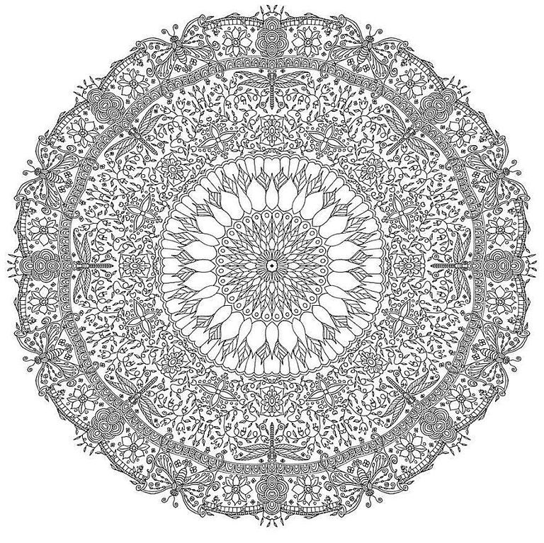 843 Free Mandala Coloring Pages