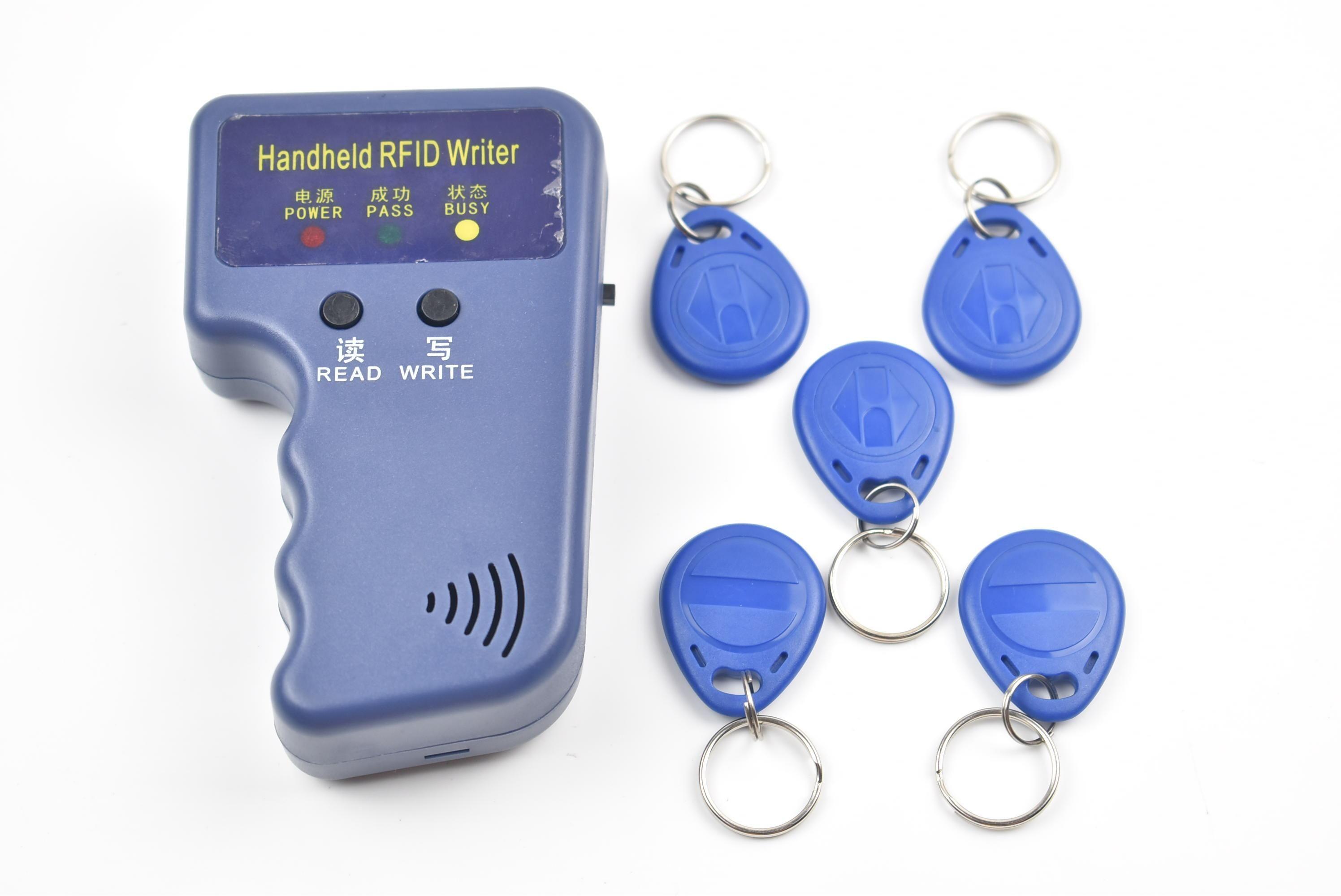 T5577 RFID Key Fob 125khz writable rewritable RFID tag for RFID Copier Writer 5