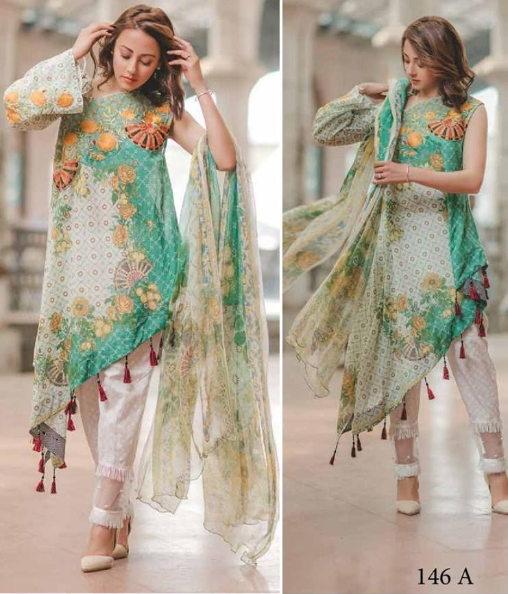 6df87a6ec3 After the great success of Rang Rasiya luxury lawn collection 2017 volume  1, the famous fashion brand of Pakistan brings another luxury summer  collection ...