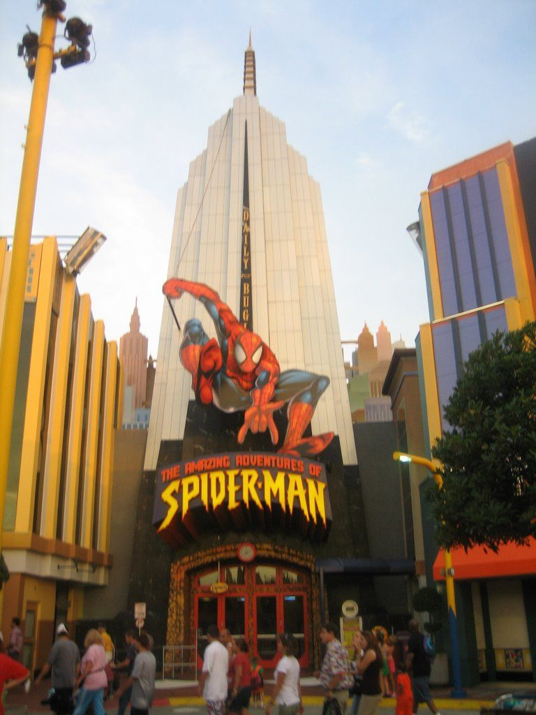 The Amazing Advetures Of Spider Man Islands Of Adventure Universal