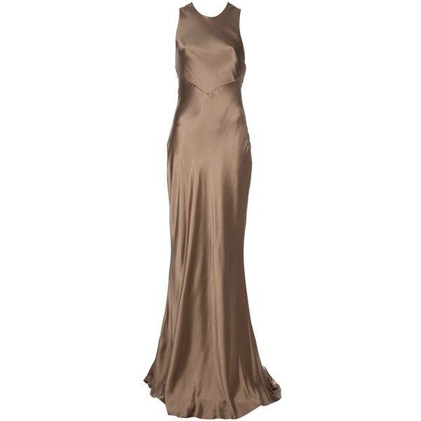 RALPH LAUREN BLACK LABEL Silk dress ($900) ❤ liked on Polyvore ...