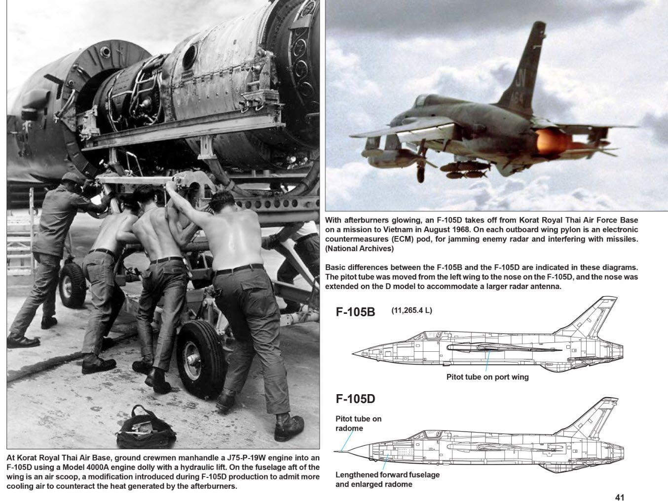 Review F 105 Thunderchief In Action Ipms Usa Reviews Military