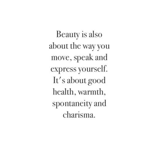 Quotes. Beauty.