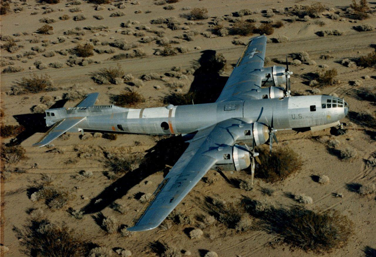 B 29 Doc Abandoned At China Lake Wwii Aircraft Military