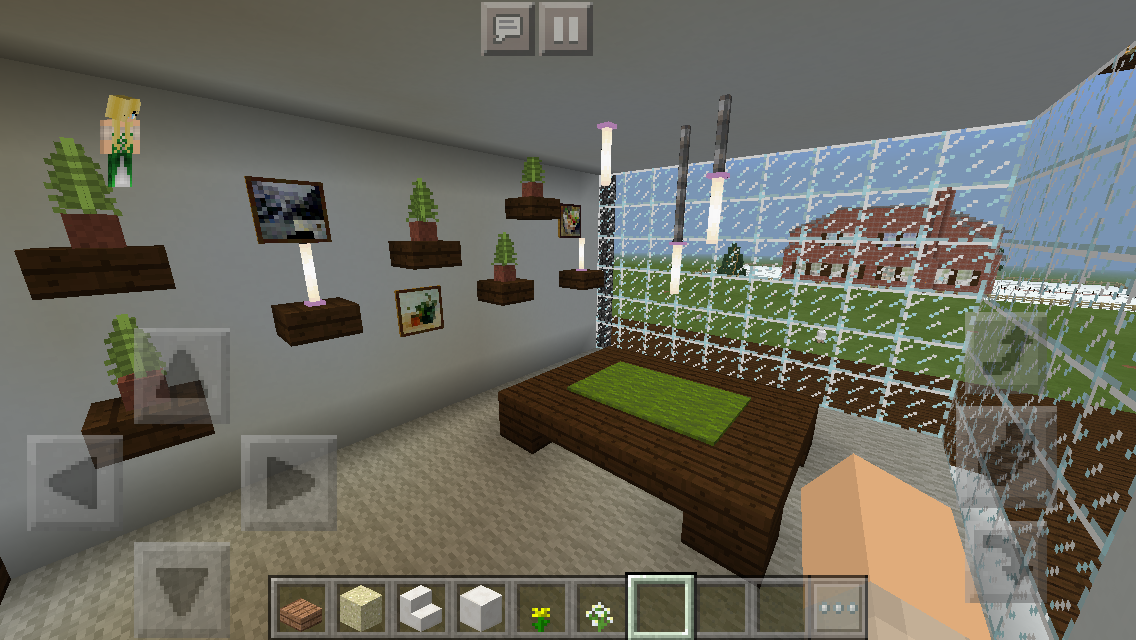 Modern House Play Room Minecraft Interior Design Architecture Houses Playroom