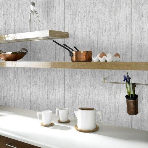 Tapete Graham  Brown Holz grau 33-057 Küche Küchentapeten