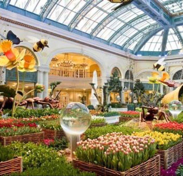 Bellagio Conservatory & Botanical Gardens Las Vegas