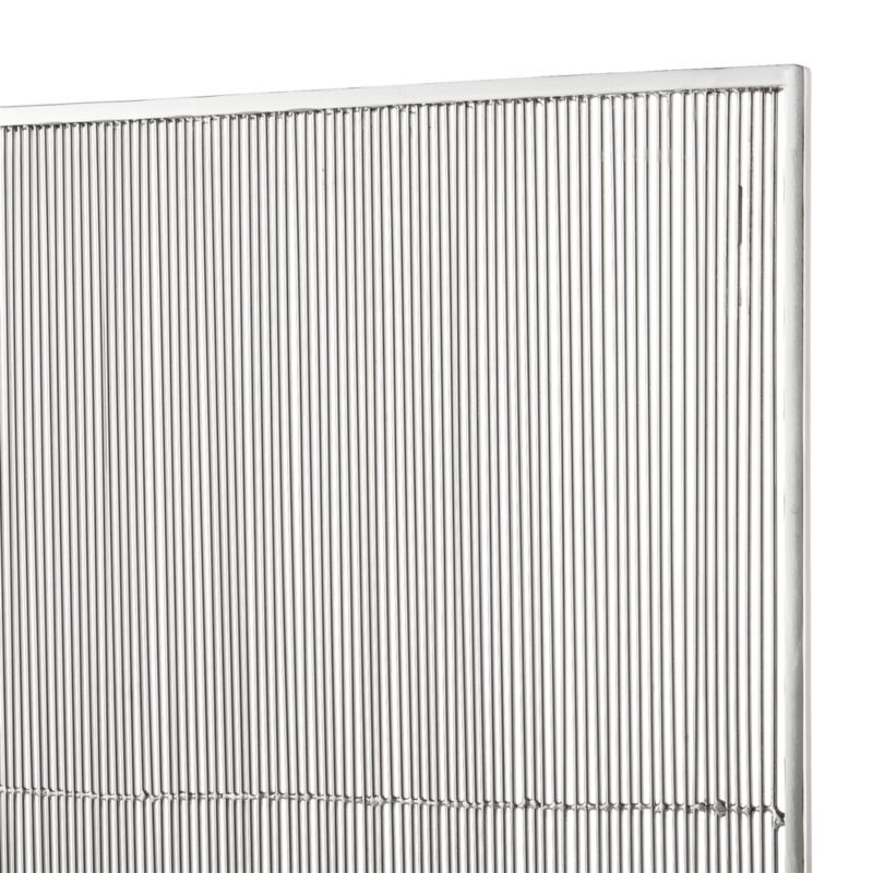 Polished Nickel Fireplace Screen Fireplace Screens Crate And