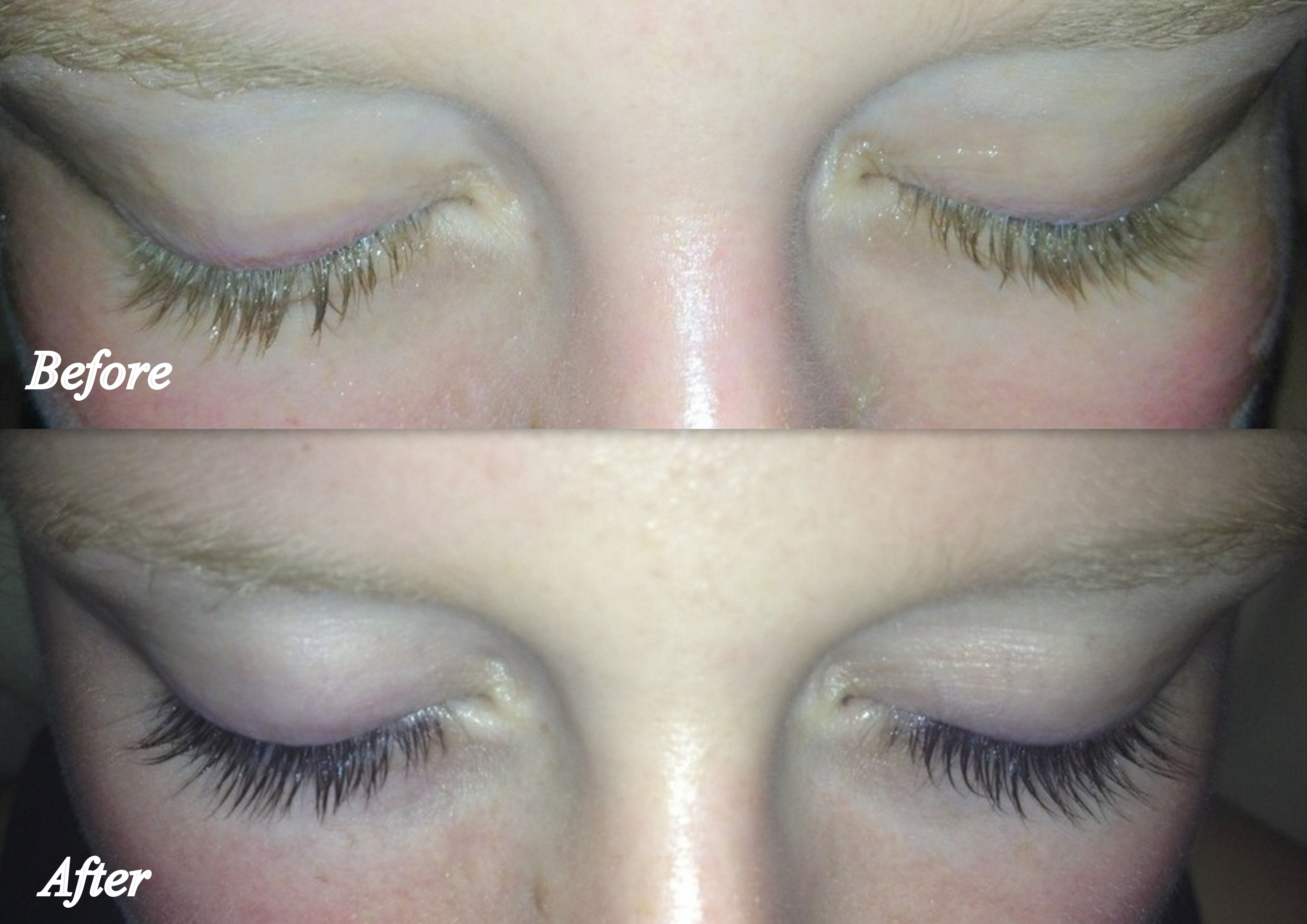 What A Transformation Eyelash Tinting Will Make Your Eyes Stand Out
