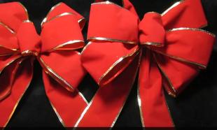 Jak Zrobic Kokardy Na Choinke Christmas Bows Diy Holiday Bows Diy Christmas Tree Bows