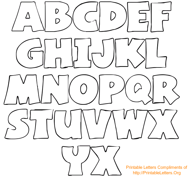 Letter Stencils Alphabet Free Printable Letters Templates Are Useful For Myriad Projects