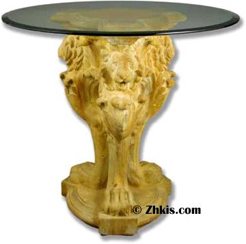 Lion Leg Patio Table Base