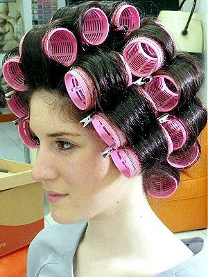 bigoudis velcros moyen Hair rollers, Hair curlers, Hair