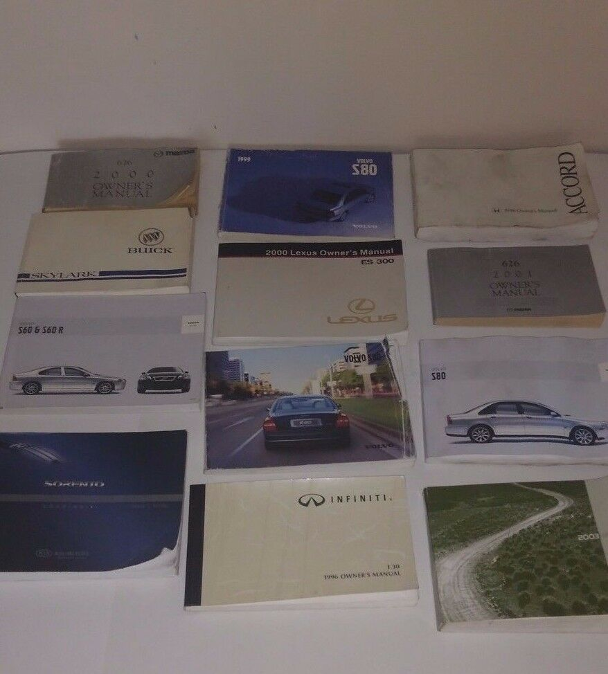 Huge Lot Of 22 Used Car Owner Manuals 90 S 00 S Volvo Chevy