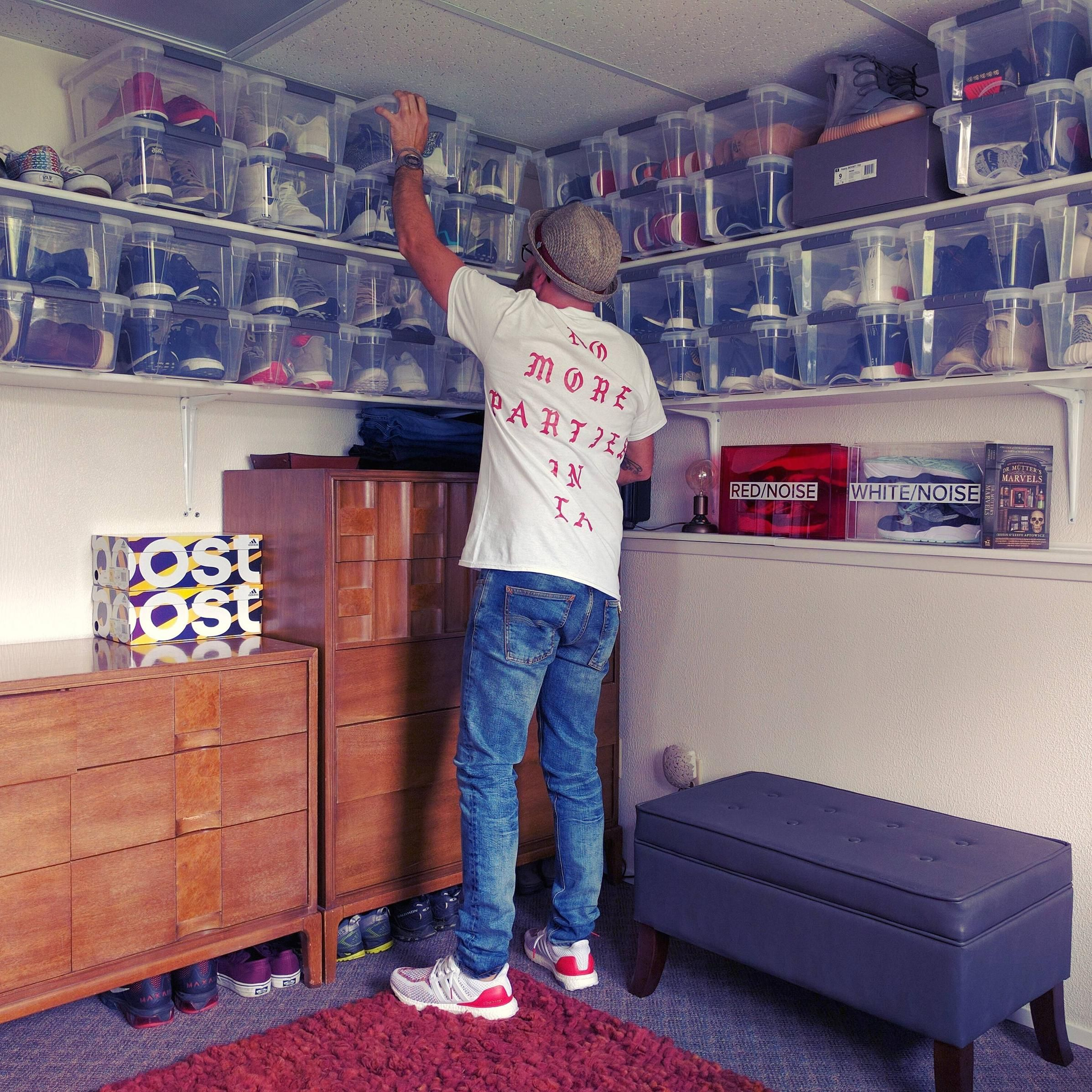 Sneaker storage   Boy rooms  Shoe
