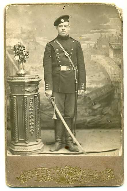 Russian Soldier with sword WWI