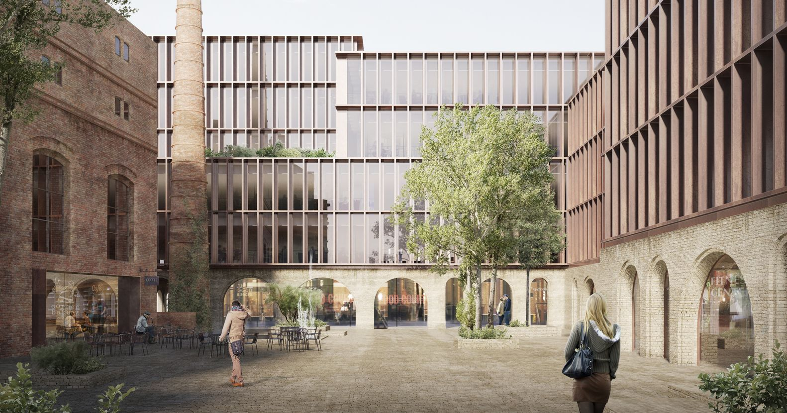 Gallery Of Schmidt Hammer Lassen Selected In Competition For Redevelopment Of Riga Historic Quarter 1 Riga Win Competitions Architecture Old