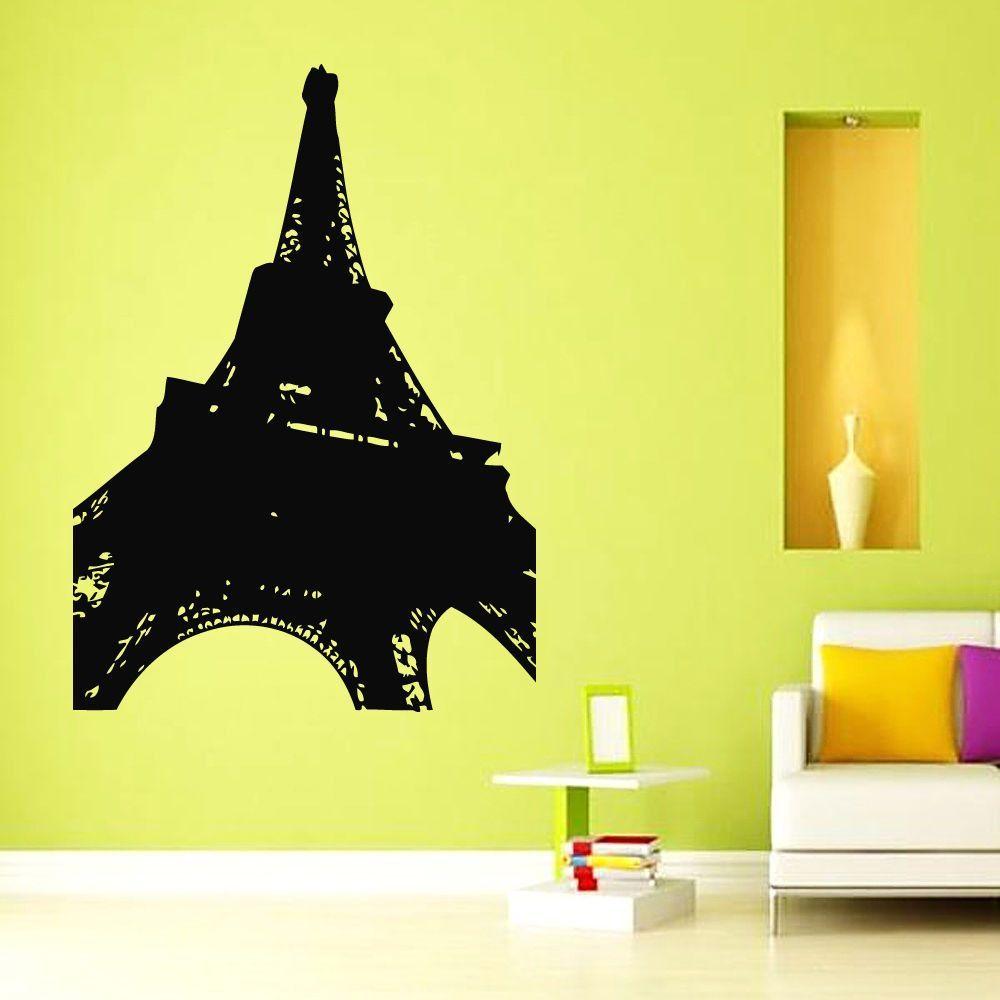 Wall Decals Vinyl Decal Sticker Art Murals Home Decor Paris Eiffel ...