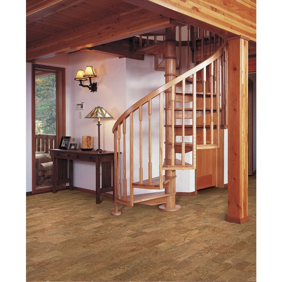 Natural Floors By Usfloors Exotic 11 81 In W Prefinished Cork Locking Hardwood Flooring At Lowes 2 99 Sq Ft 68 74 Covers 22 9