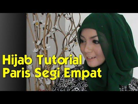 Hijab Tutorial Paris Segi Empat Modern Dan Simple Kursus Hijab Petunjuk Paris