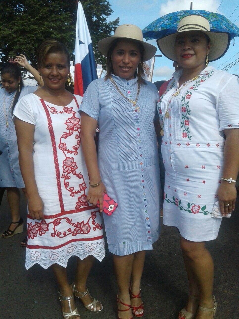 886fdb1710 Celebrando fiestas patrias Vestidos Estilizados Panameños
