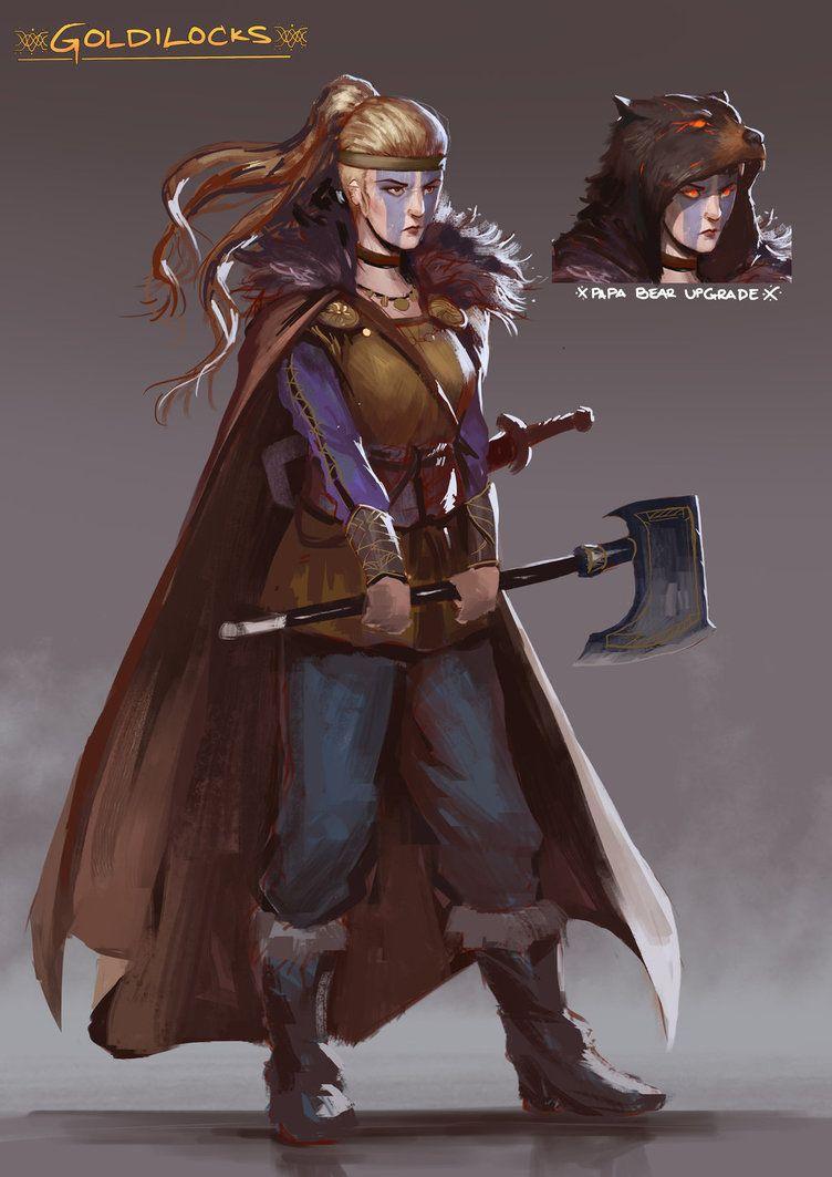 Viking Queen, Goldilocks by JoshCorpuz85 on DeviantArt