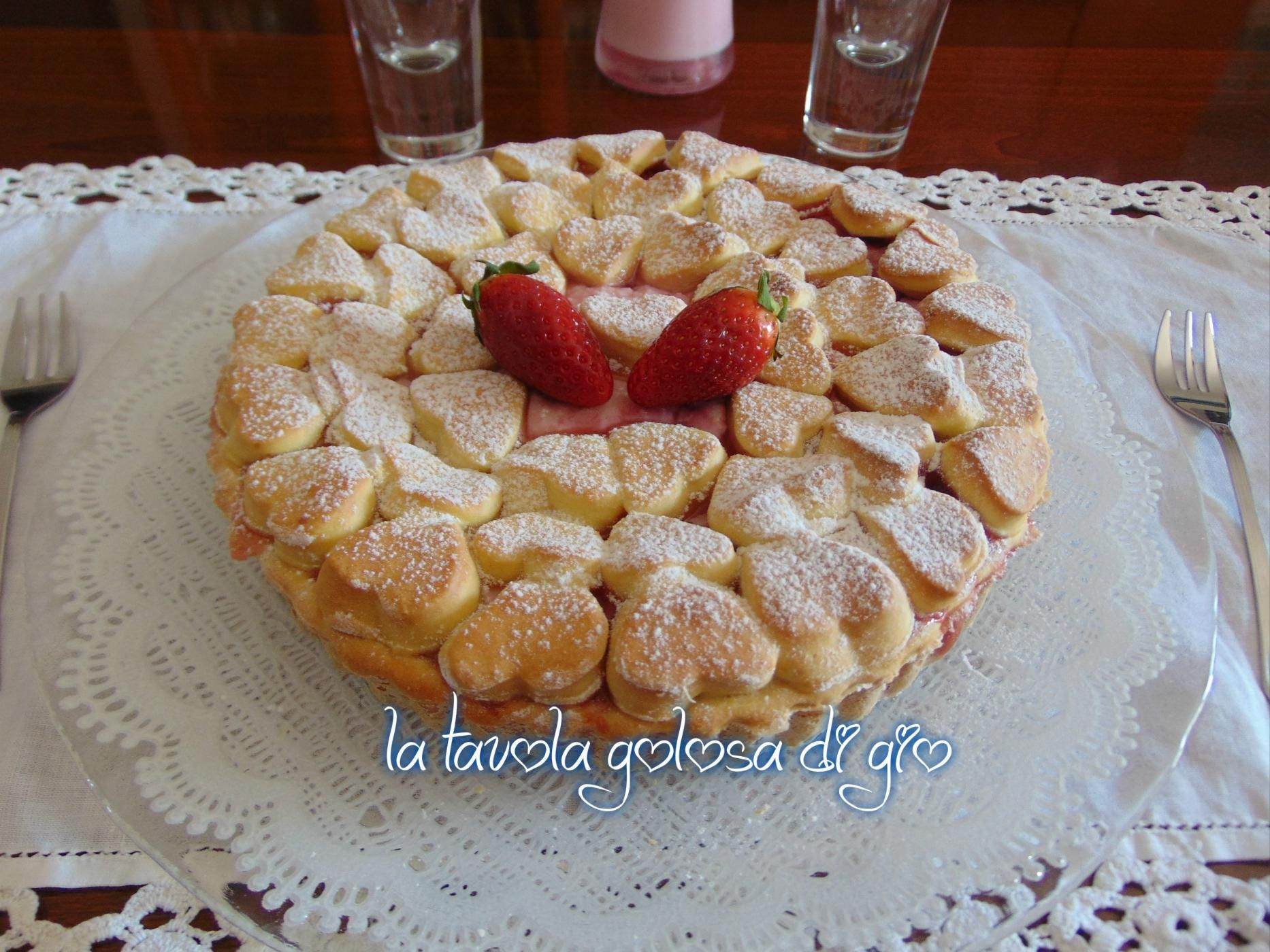 Photo of Crostata con crema golosa di ricotta e fragole | La tavola golosa