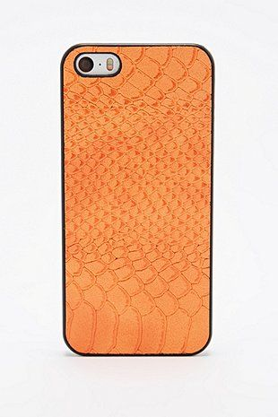 Snake iPhone 5 Case in Orange - Urban Outfitters