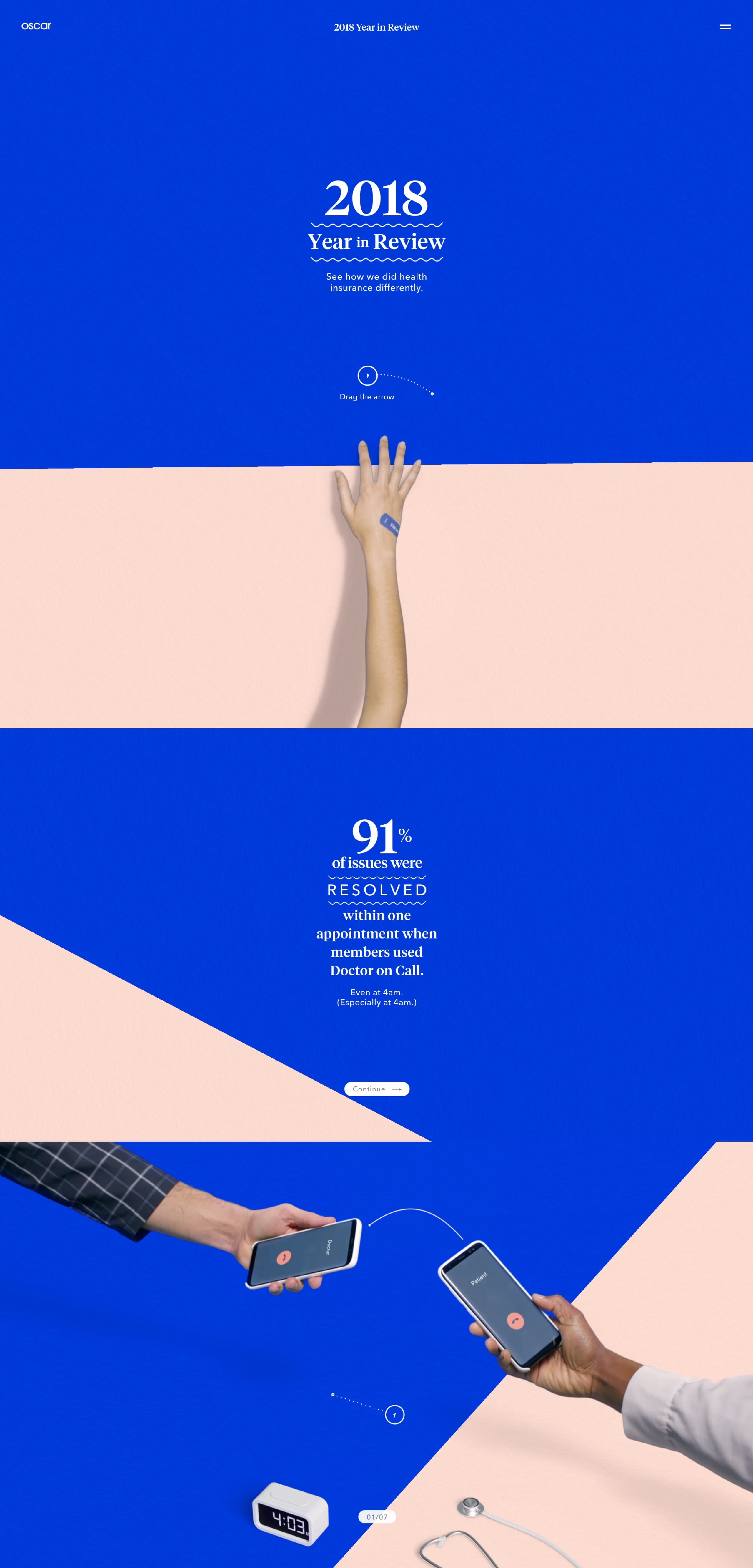 The Oscar 2018 Year In Review Site Features Multiple Interactive Animations That Just Come Alive As You Go My Favorite Web Layout Design Web Design Web Layout
