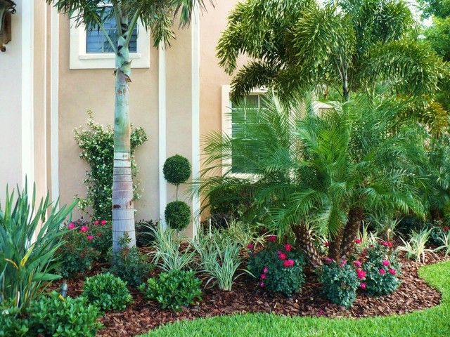 frontyardlandscapingflorida other picture offront yard tropical landscaping ideas qpx