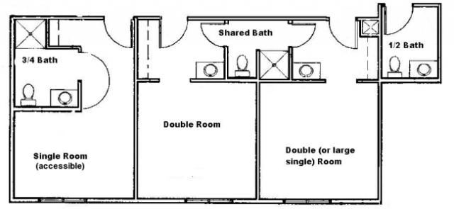 jack and jill bathroom idea basement jack n jill bathroom pinterest. Black Bedroom Furniture Sets. Home Design Ideas