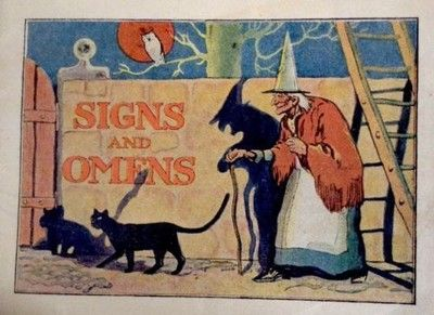 """Vintage Early 19's Advertizing Dr Miles Medications""""Signs And Omens Booklet (08/28/2014)"""