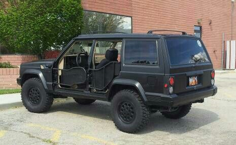 Jeep zj shaved doors