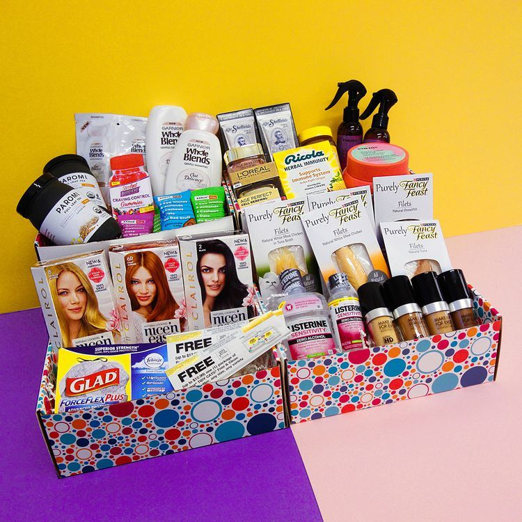 Get a box full of free samples from pinchme free samples