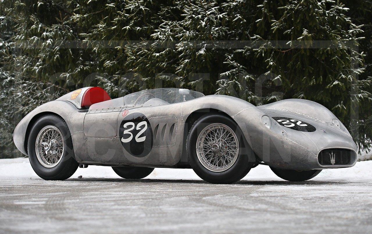 @GoodingCompany. #Amelia 1956 #Maserati 200 SI sells at $4,700,000. Raced by Sterling Moss. @CarClassiq