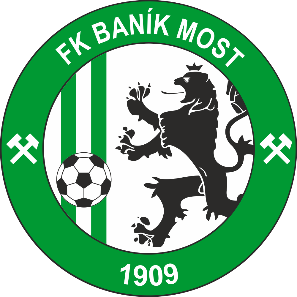 FK Baník Most | Soccer logo, Football logo, Sports logo