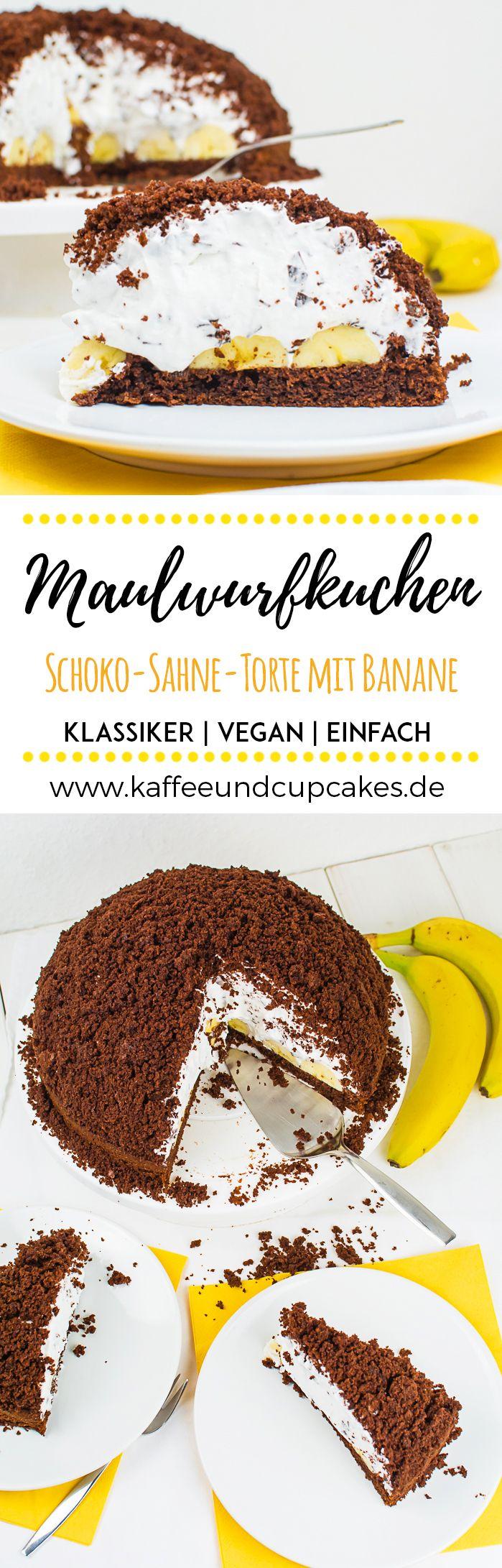 Veganer Maulwurfkuchen #veganermaulwurfkuchen