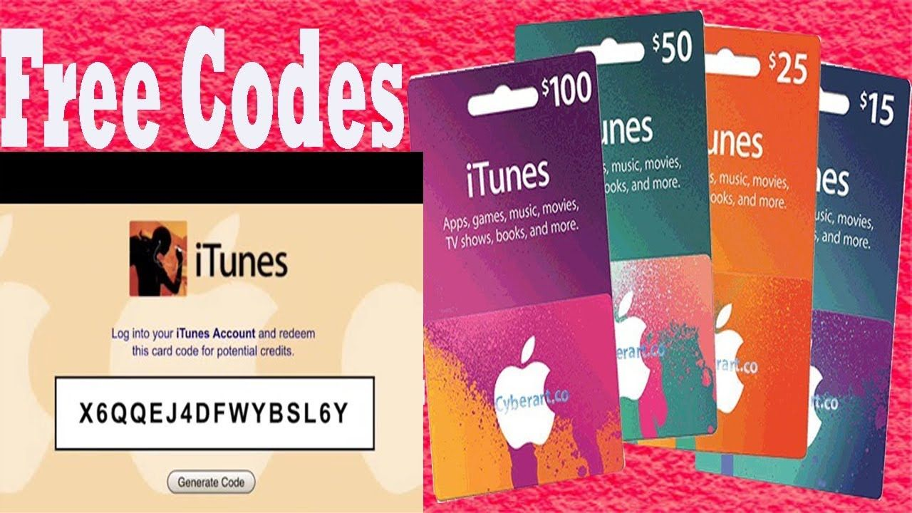 How To Get Free Itunes Gift Card Codes 2018 With 100 Working And