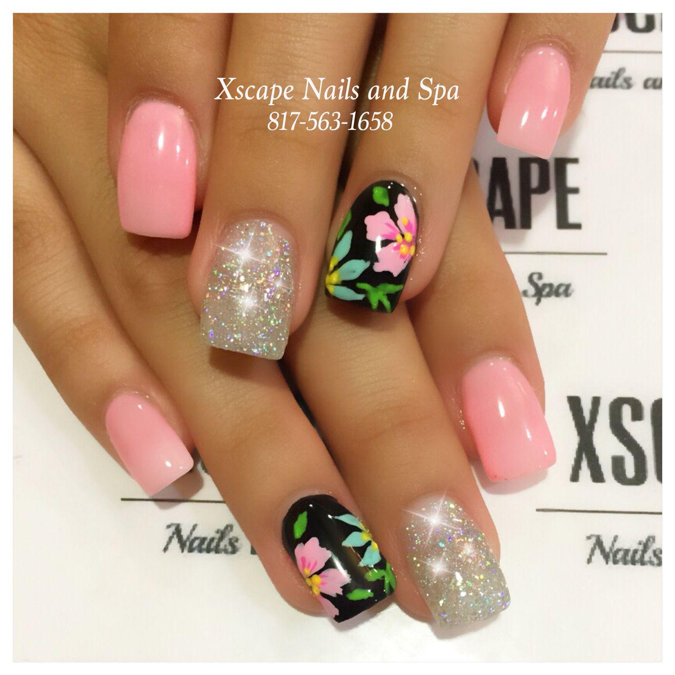 Tropical summer nails   Cute Nails Designs   Pinterest   Nageldesign ...
