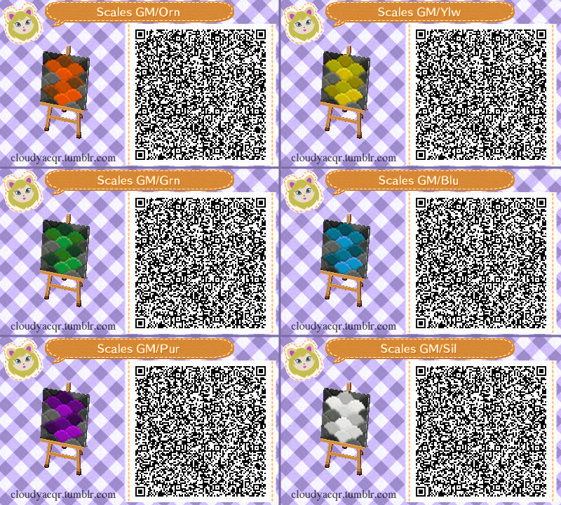 Animal Crossing New Leaf Hhd Qr Code Paths Cloudyacqr
