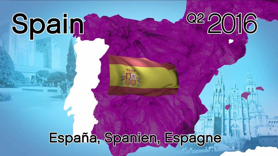 Omg May 2nd launch date for Spain woo hoooooo!!! Such exciting news xxx