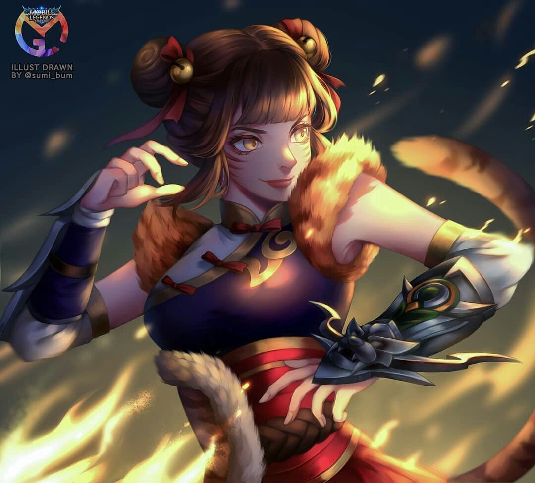 Wanwan Mlbb Mobile Legends Mobile Legends Mobile Legend Wallpaper The Legend Of Heroes