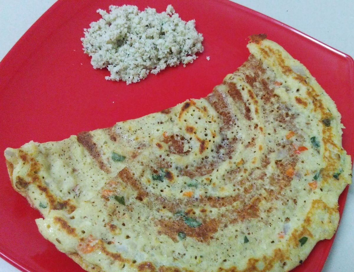 Adai Dosa is one of the nutrient rich breakfast recipe. It contains more proteins and iron as we add many dals and other ingredients which will not only make the dish healthy but also a tasty one. ...