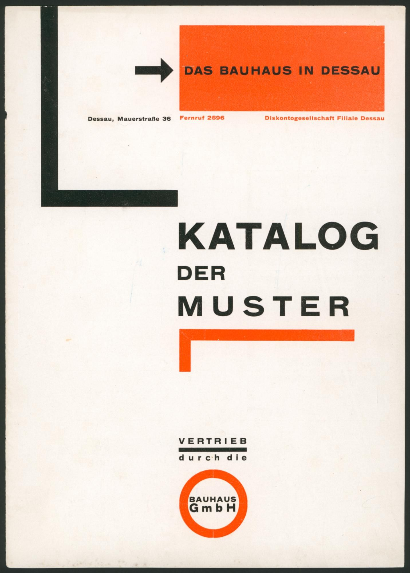 Bauhaus Architekturstil Title Katalong Der Muster Designer Herbert Bayer Date It Was