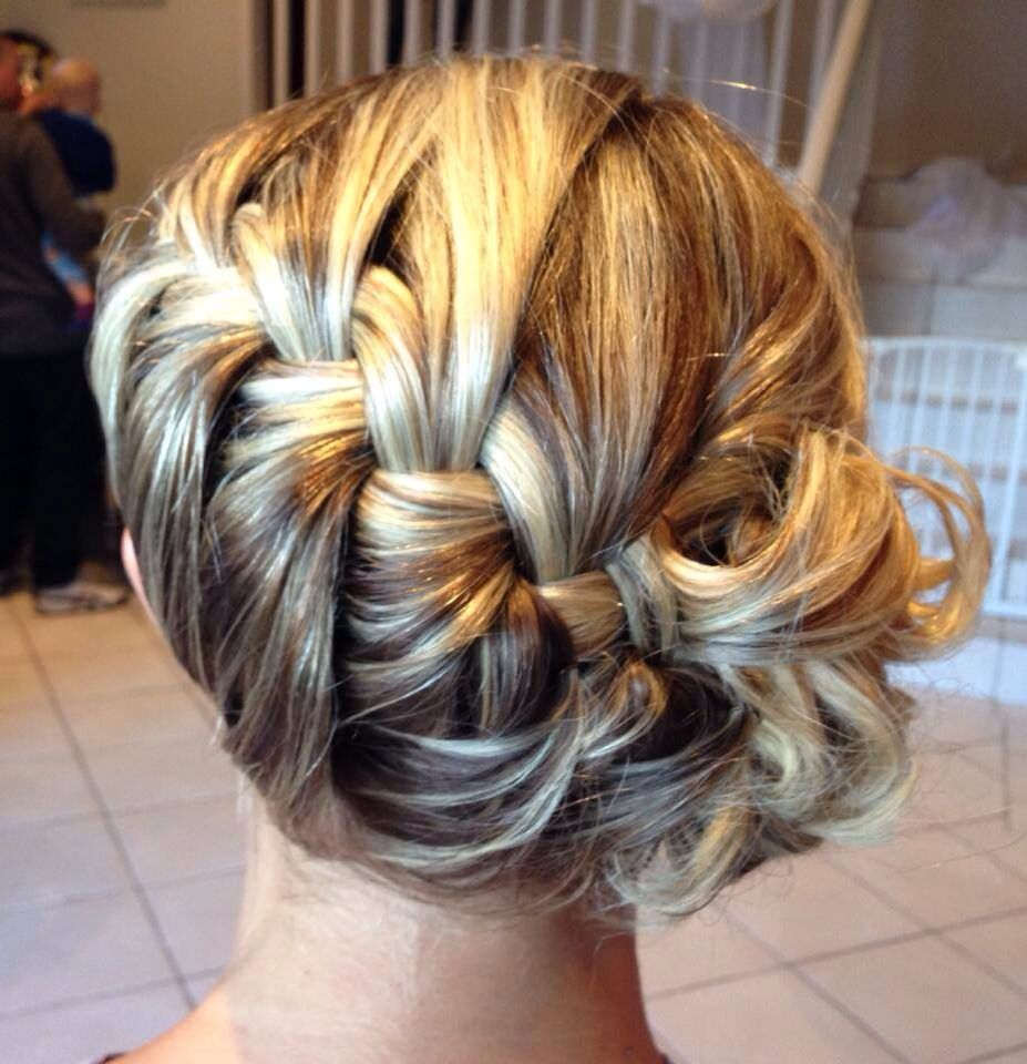 Side braid with Curls  Hairstyles  Pinterest