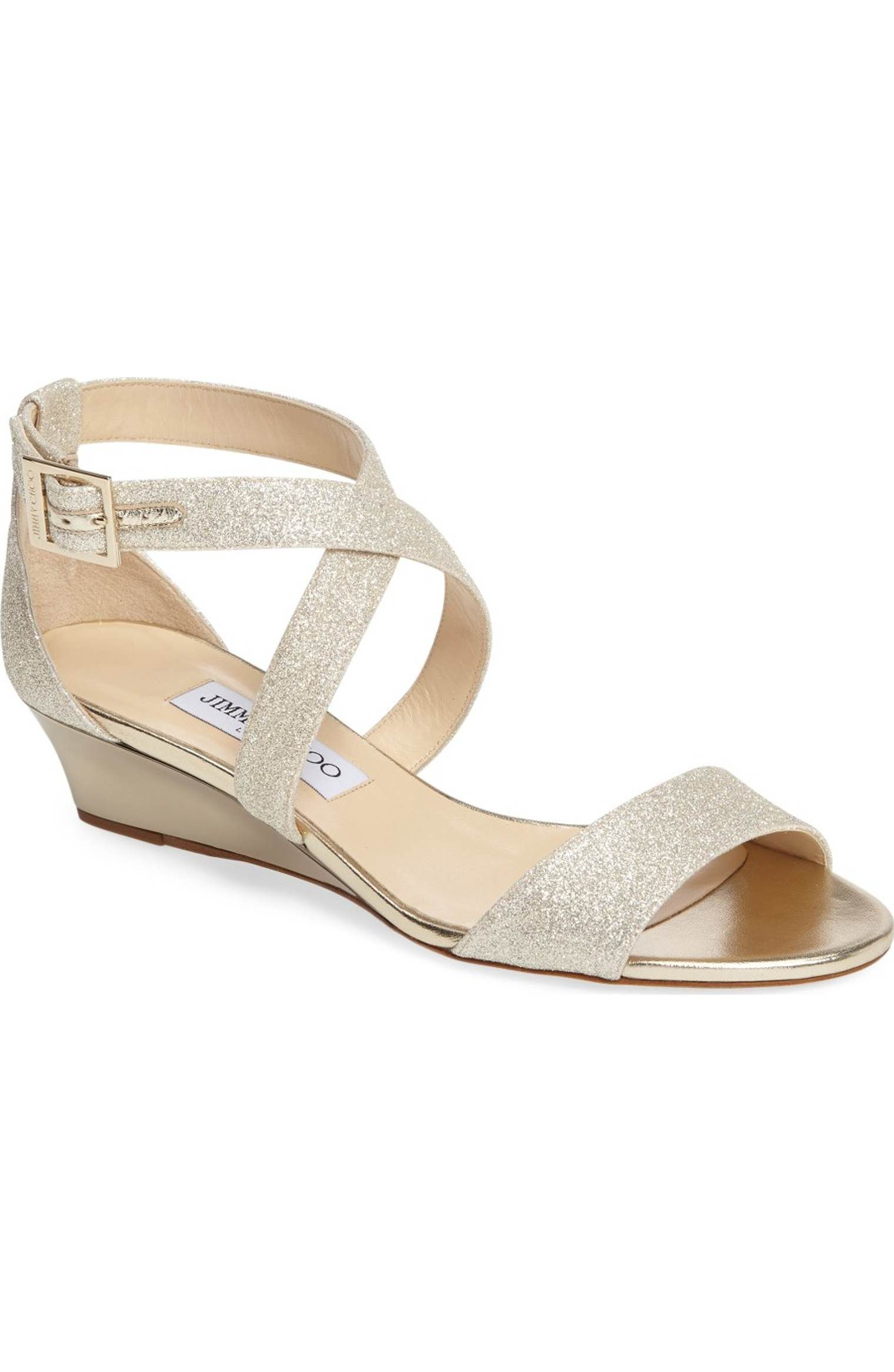 c7c2101ad715 Main Image - Jimmy Choo  Chiara  Strap Wedge Sandal (Women)