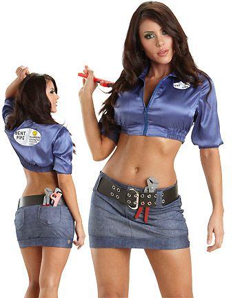 sexy plumber costume
