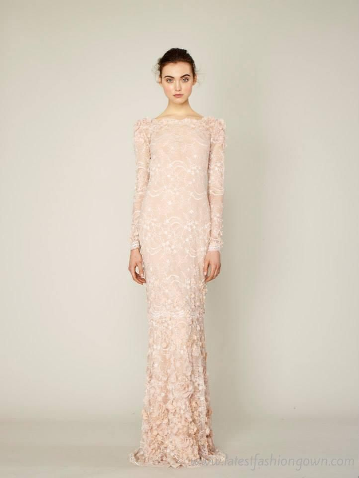 Marchesa Evening Dress - Colorful Dress Images of Archive