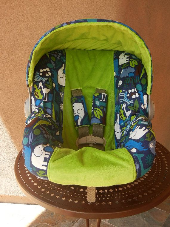 Baby Car Seat Cover boy car seat cover Infant Car Seat by isewjo, $69.00