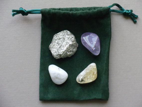 Menopause Healing Crystal Set CRY111 by NaturesWhimzy on Etsy, $11.00